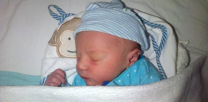 Oscar 0-1 maanden oud